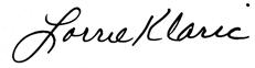 lorrie signature